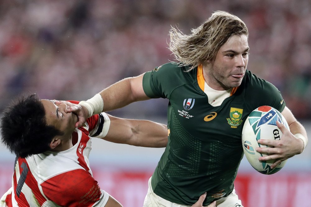 In This Sunday Oct 20 2019 File Photo South Africa S Faf De Klerk Runs To Score A Try During The Rugby World Cup Quar Rugby World Cup Rugby Coaching Rugby