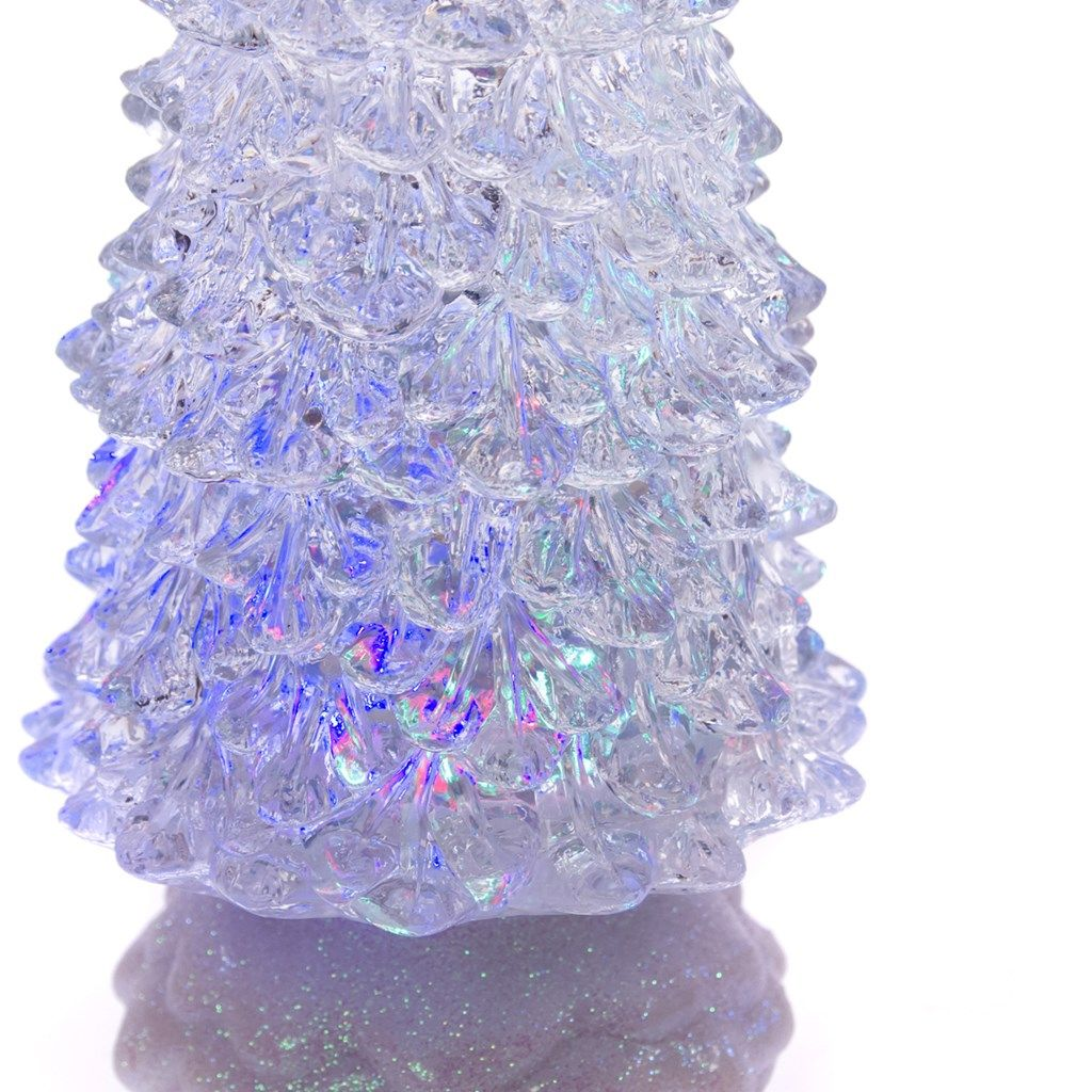 """Sophisticated Christmas Tree: 12"""" LED Water Christmas Tree"""