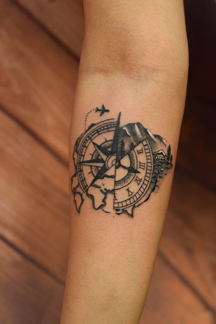 Artist suresh machu from machu tattoos bangalore india