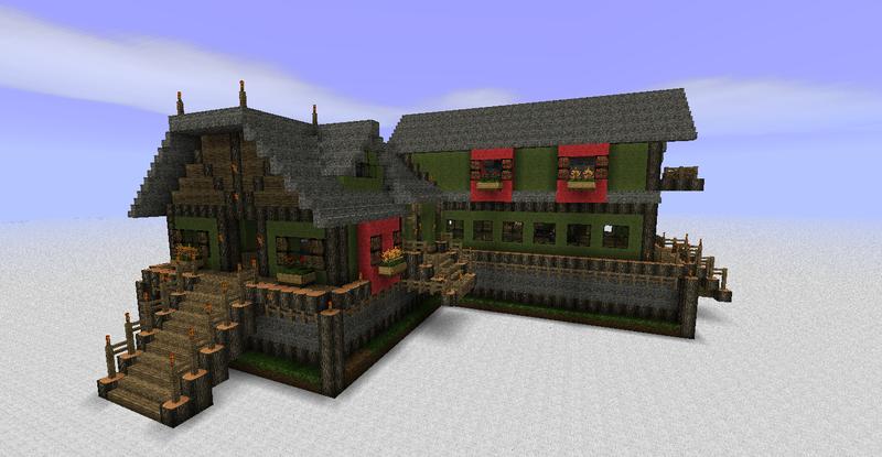 Skyrim Inn Minecraft Project
