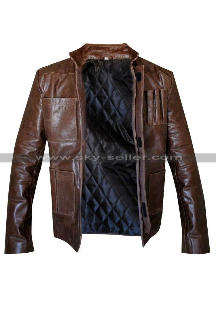 Han Solo Star Wars Force Awakens Leather Jacket Han Solo Jacket Star Wars Jacket Jackets [ 1100 x 750 Pixel ]