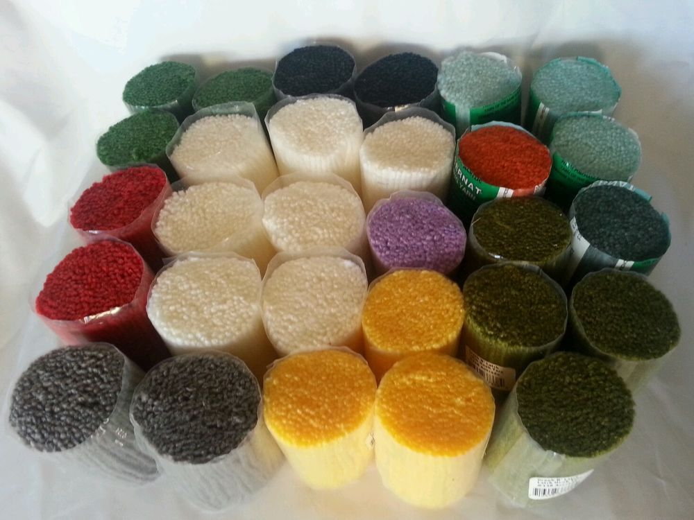 Latch Hook Rug Yarn Mixed Colors Lot 29 Bernat Graph Nu0027 Latch Acrylic Crafts