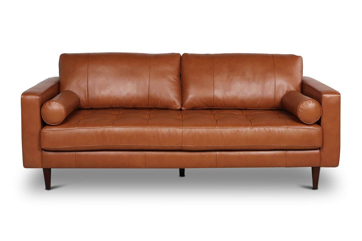 Jensen Leather Sofa In 2020 Leather Sofa Tan Leather Sofas Leather