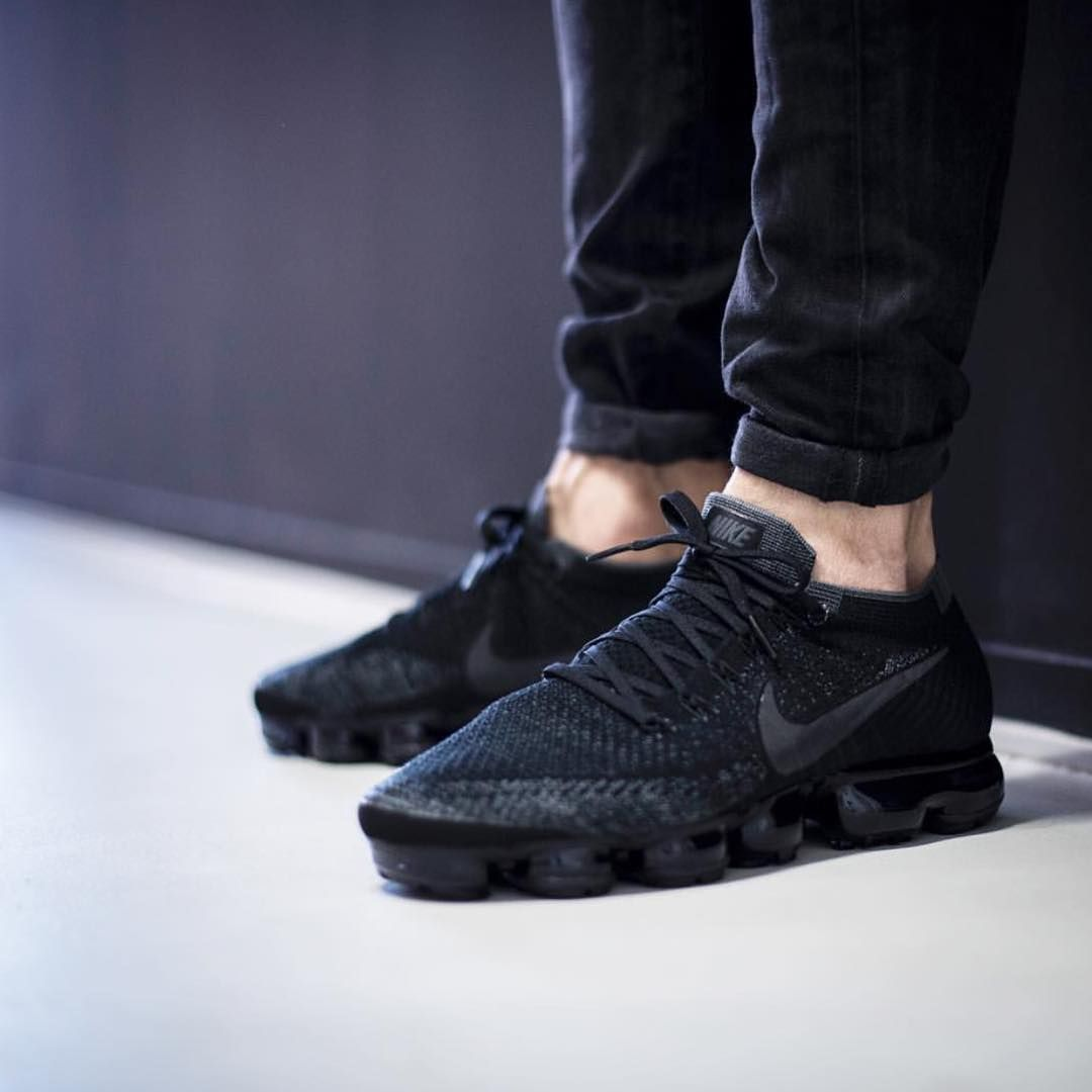 Looks Pretty Sexy On Feet The Nike Vapormax Quot All Black
