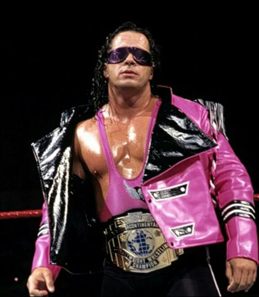 Pin By Melissa A Klein On Legends Hitman Hart Wrestling Outfits Wrestling Costumes [ 960 x 836 Pixel ]