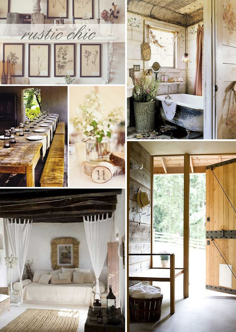 country rustic ideas  Decoration Rustic And Country Decor Tips