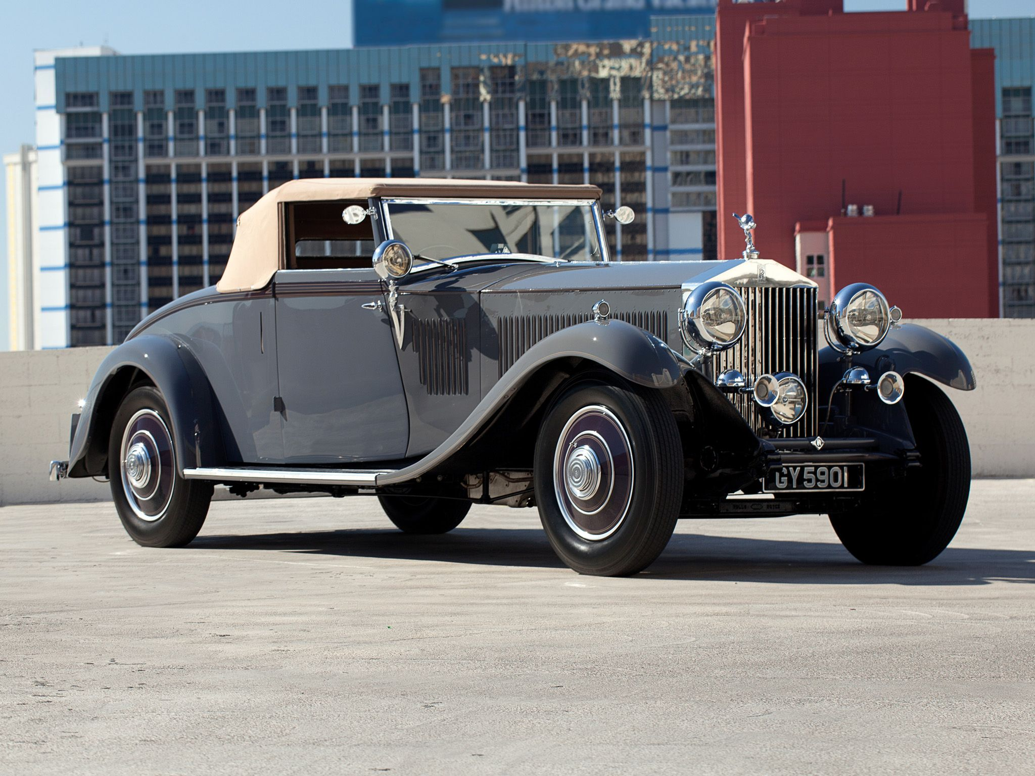 1932 Rolls Royce Phantom II Continental Drophead Coupe by Carlton