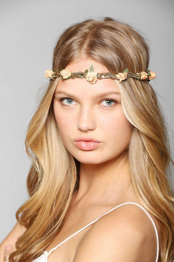 Twisted chain flower crown headwrap beauty pinterest flower twisted chain flower crown headwrap izmirmasajfo