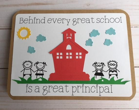 show your childs principal just how much you appreciate
