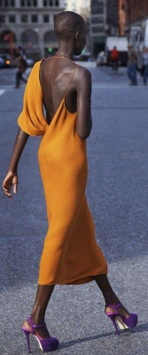 Beautiful orange dress to your collection (70) #afrikanischerstil Beautiful orange dress to your collection (70) #afrikanischerstil