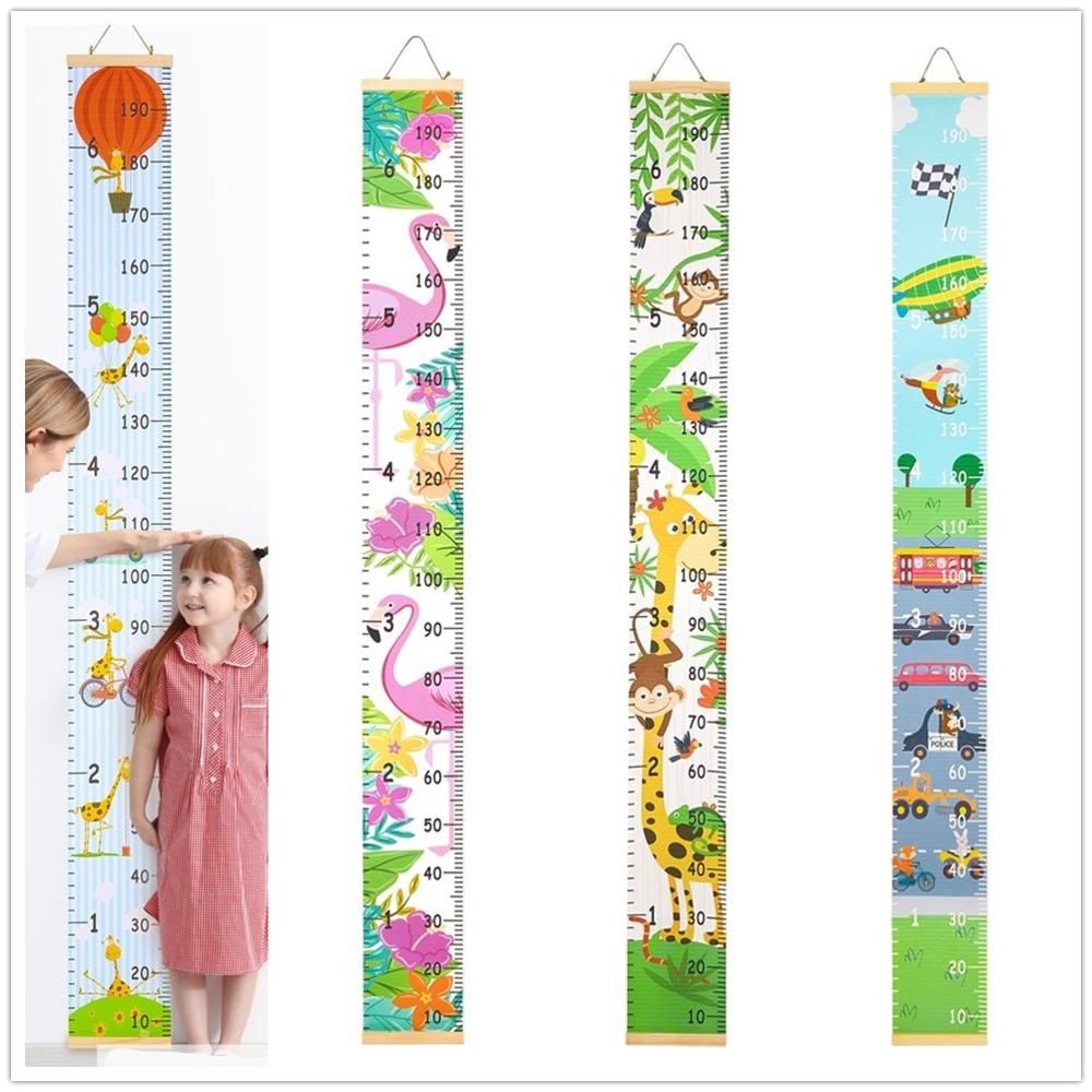 Kids Growth Chart Height Chart for Child Height Measurement Wall Hanging