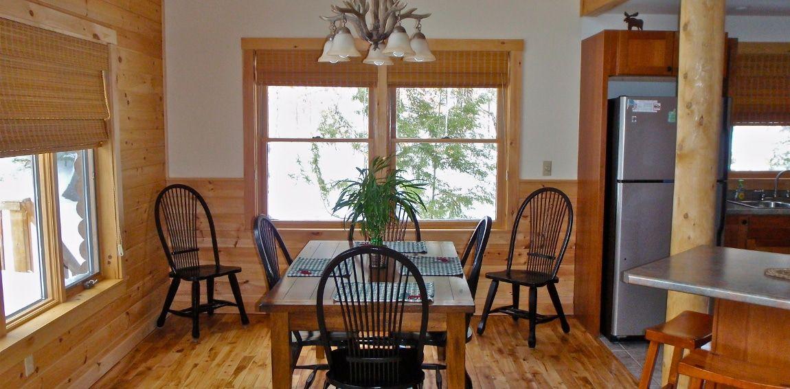 Log Cabin Rental, Greenville Maine Vacation Lodge Rental