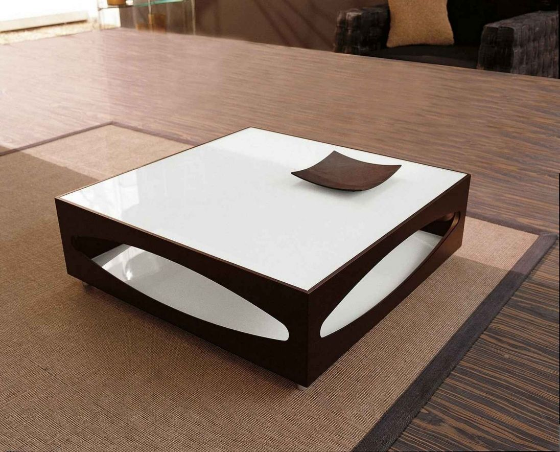 dark wood and white coffee table interior paint color trends
