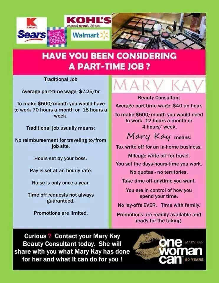 Contact me to start your amazing Mary Kay business today