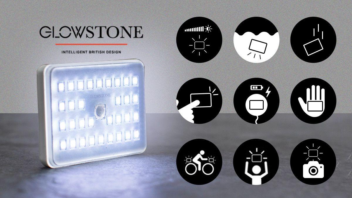 防水 小型 耐衝撃 ワイヤレス充電で最大900ルーメンの明るさglowstone By Glowstone事務局 魅力的なプロジェクトに共感して支援し皆で成功させる楽しみ O きびだんご ルーメン クラウドファンディング