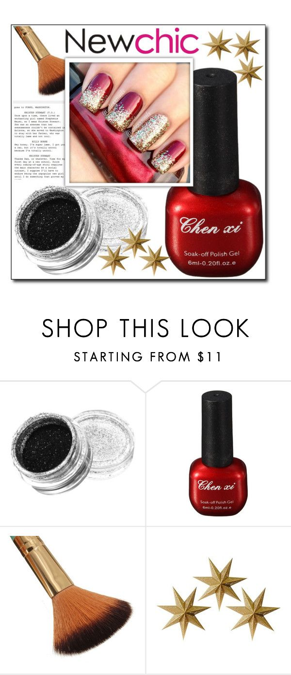 """""""Newchic 30."""" by zura-b ❤ liked on Polyvore featuring beauty and LumaBase"""