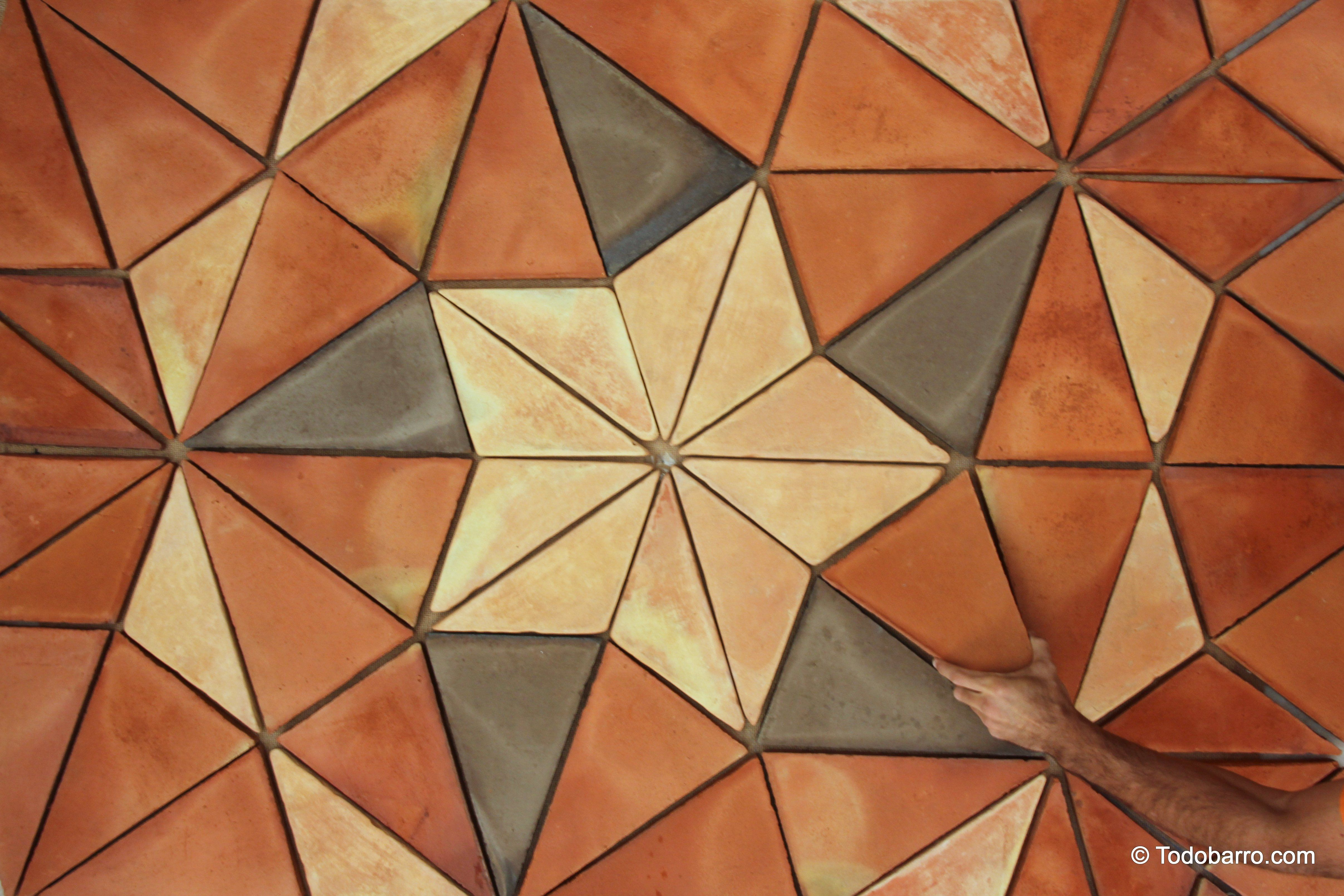 teselado de penrose | spanish terracotta floor tiles. | our