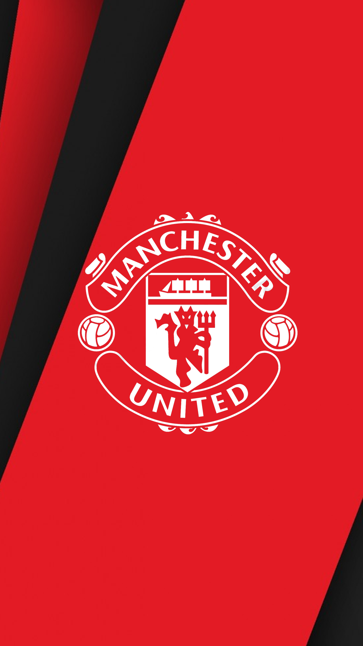 Manchester United Logo Wallpapers Hd Wallpaper Manchester Sepak Bola Wallpaper Ponsel Ponsel