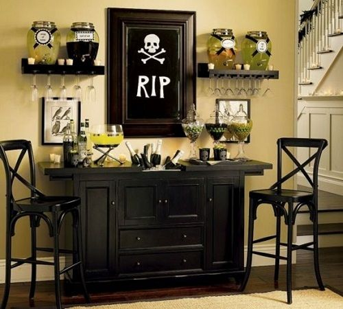 Awesome Indoor Halloween Decorations  Large Indoor Halloween - indoor halloween decoration ideas
