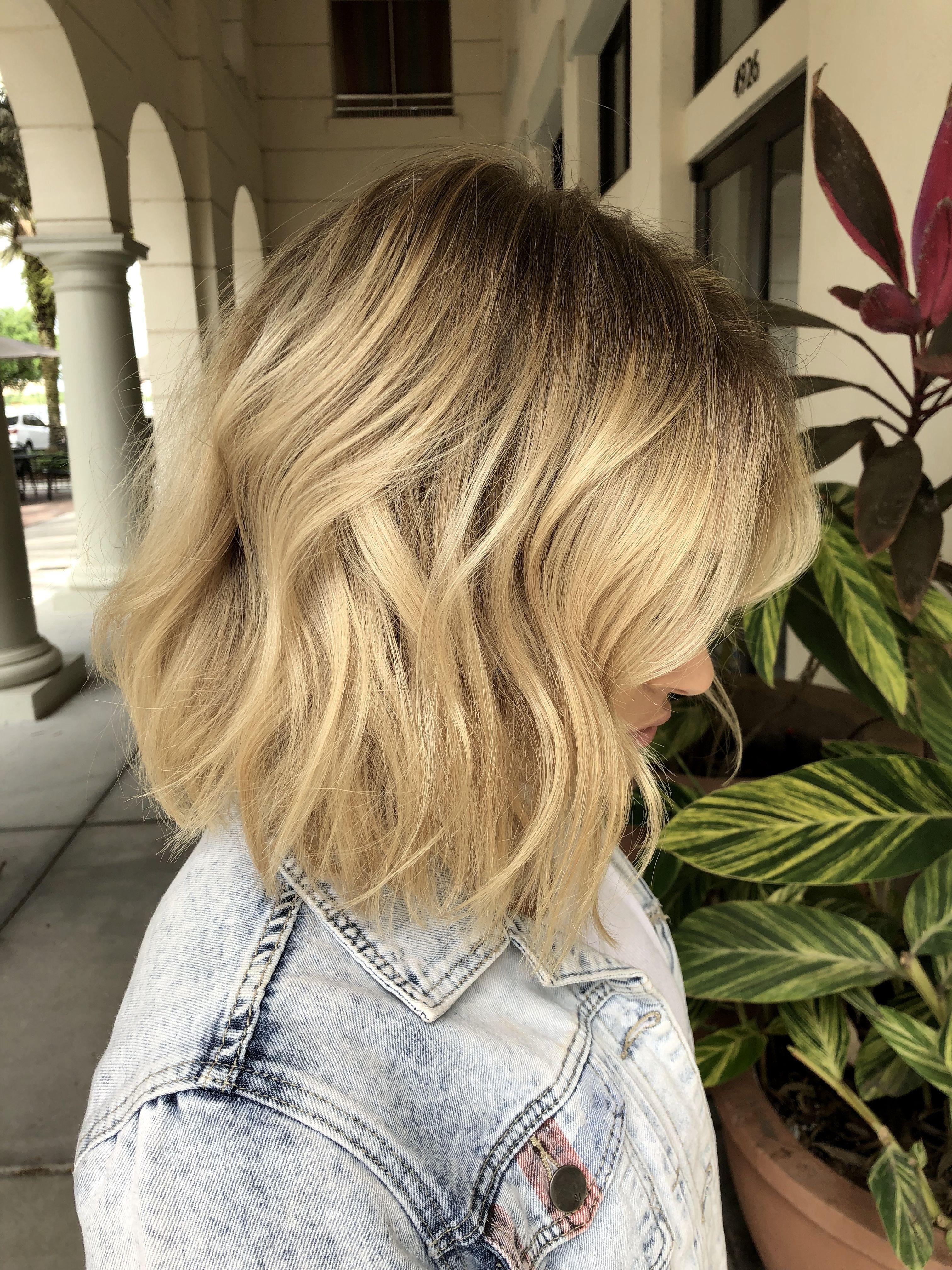 Blonde Balayage Money Piece In Style Hair Orlando Florida Ashleyfehthair Hair Styles Blonde Balayage Long Hair Styles