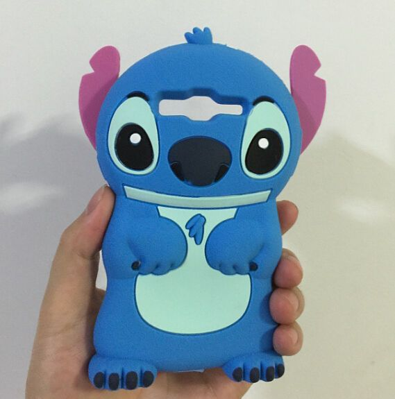 official photos 9bd56 8fea4 3D Stitch Soft Silicone Back Cover Case For Samsung Galaxy Core ...
