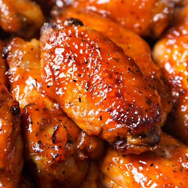 Slow Cooker Honey Buffalo Wings Recipe Yummly Recipe Wing Sauce Recipes Chicken Wing Recipes Chicken Wings
