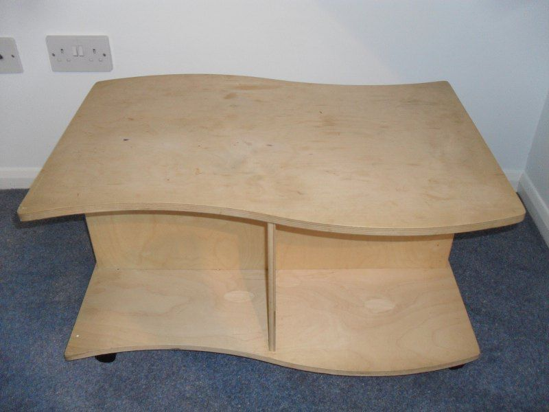 bent plywood coffee table tables Pinterest