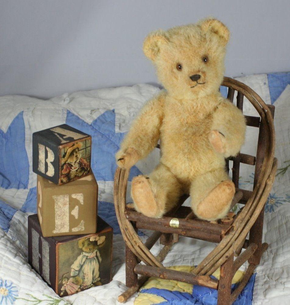 RARE Old Weisermuller Teddy Bear 1930'S   eBay