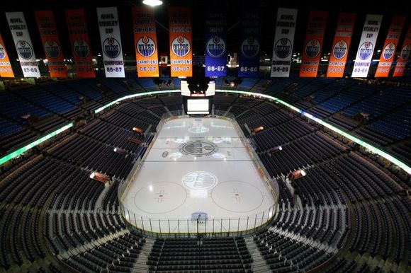 Rexall Place, Home of the Edmonton Oilers.