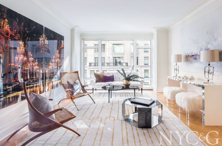 Tour a Chic Parisian Inspired Getaway at 15 Central Park West
