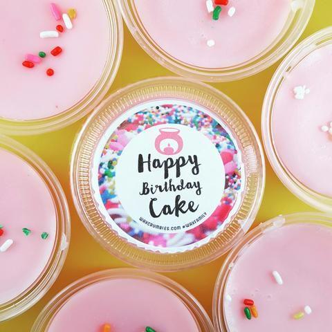 Happy Birthday Cake (wax mini)