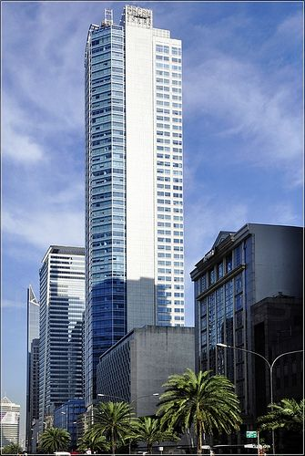 The Philippine Bank Of Communications Tower Aka Pb Com Tower Makati City Philippines