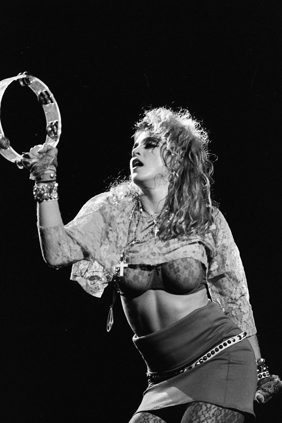 Madonna Performs The Virgin Tour At Radio City Music Hall In New York City June 6 1985 Lady Madonna Madonna Madonna Pictures