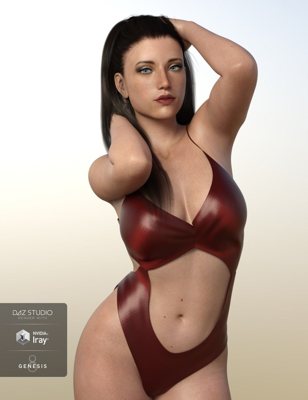 Rachel for Genesis 8 Female by Cherubit for DAZ Studio by DAZ 3D