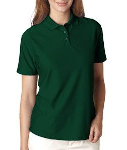 8414 UltraClubå¨ Ladies' Cool & Dry Elite Performance Polo Forest Green