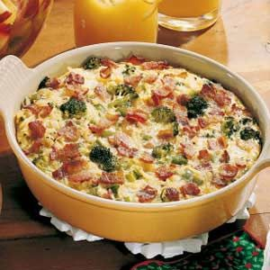 Vegetable Bacon Frittata #baconfrittata
