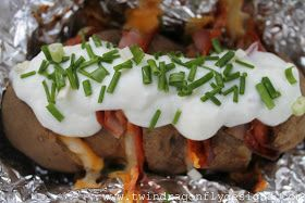 Dragonfly Designs: Baked Potato Supper