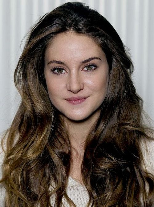 shailene woodley hair styles 2017 shailene woodley two tone wavy hairstyles 5376
