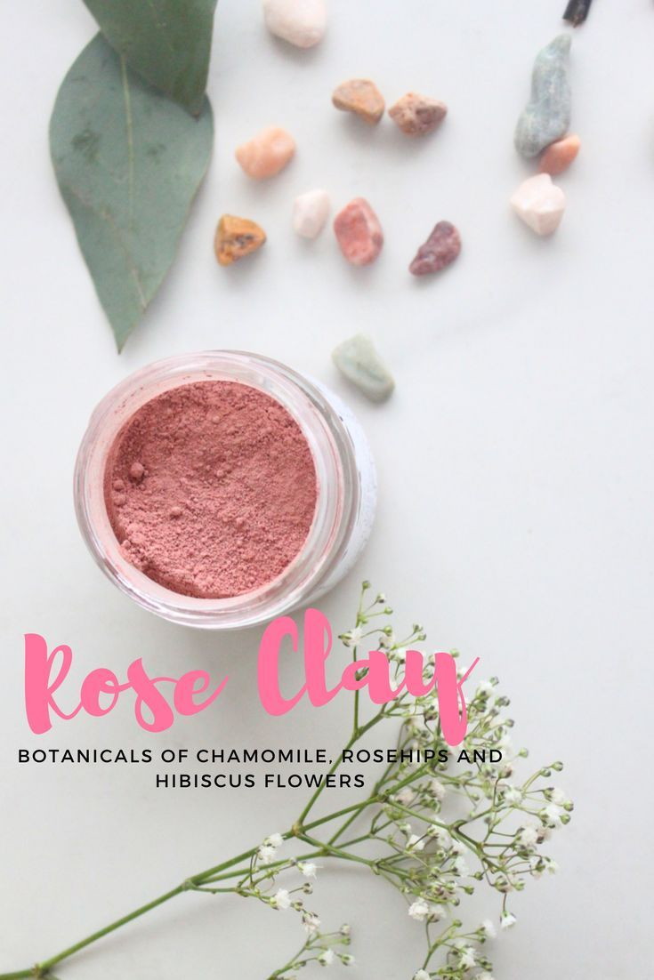 No 24 french clay mask with organic rosehips and hibiscus by using the power of plants minerals organic rosehip powder hibiscus powder and chamomile izmirmasajfo