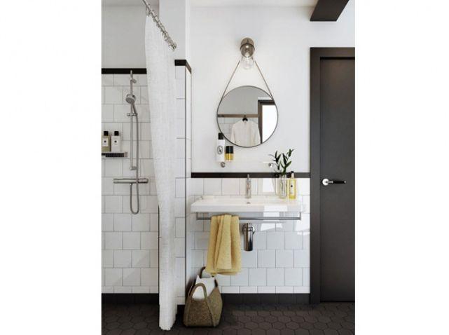 salle de bain blanche et grise u003e Move-In Day u003c Pinterest House