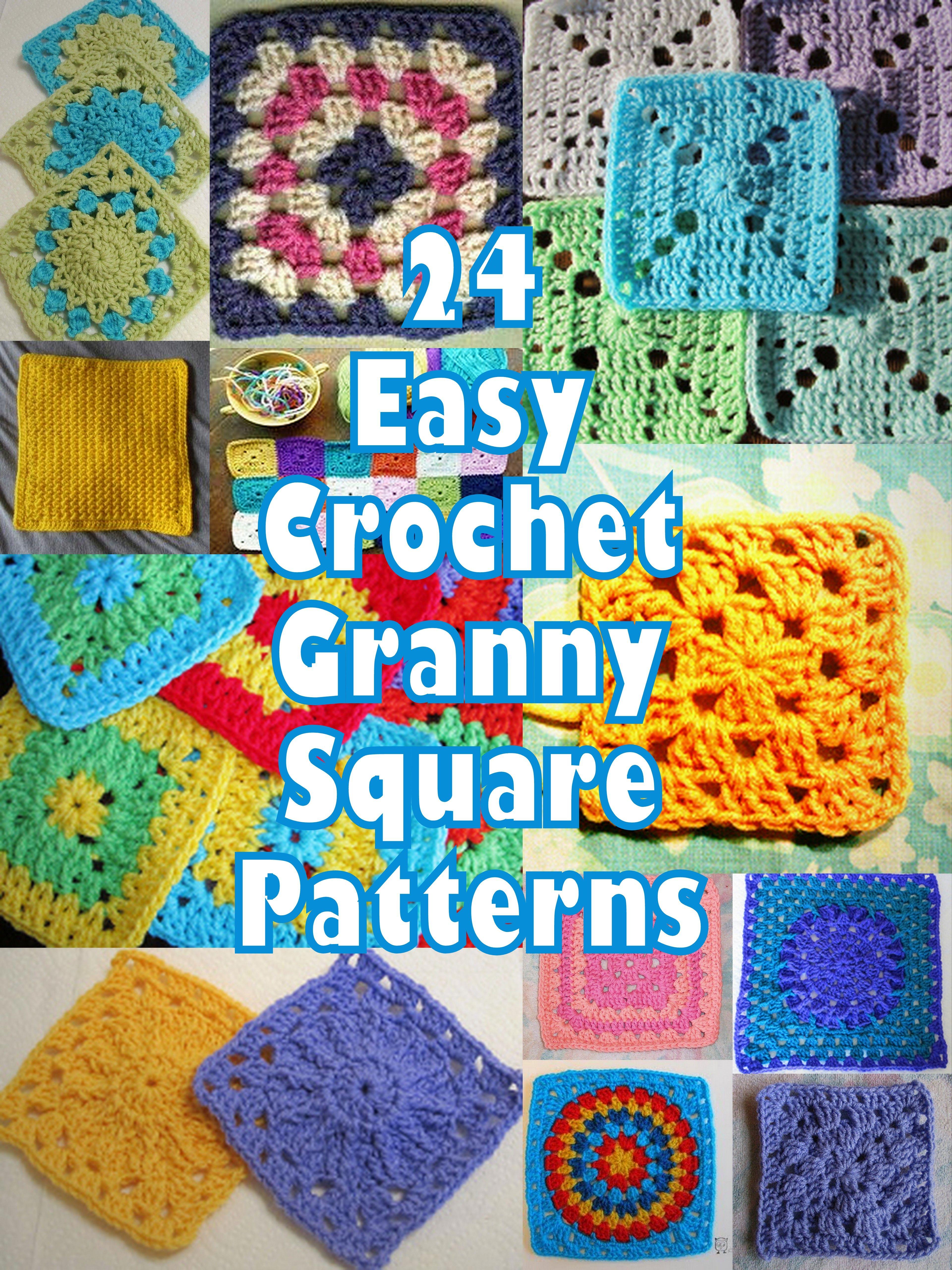 It\'s So Easy! 46 Easy Crochet Granny Square Patterns | Häkeln ...