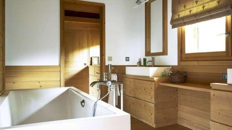 Bagno Design Scandinavo : Arredare il bagno in stile scandinavo arredo bagno in legno