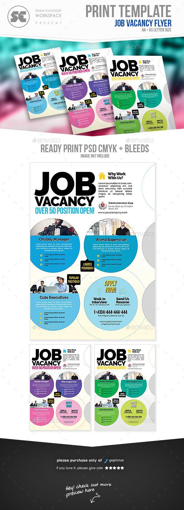 Job Vacancy Flyer - Corporate Flyers Download here: https ...