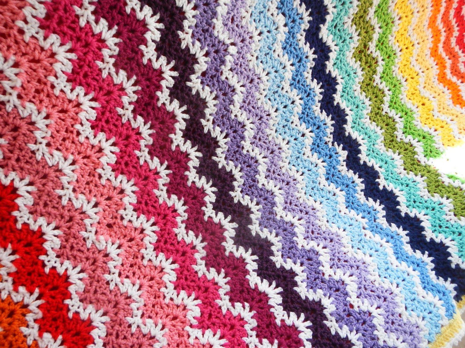 crochet churchmouse stitch   Apple Blossom Dreams: Stash-Buster #22 ...