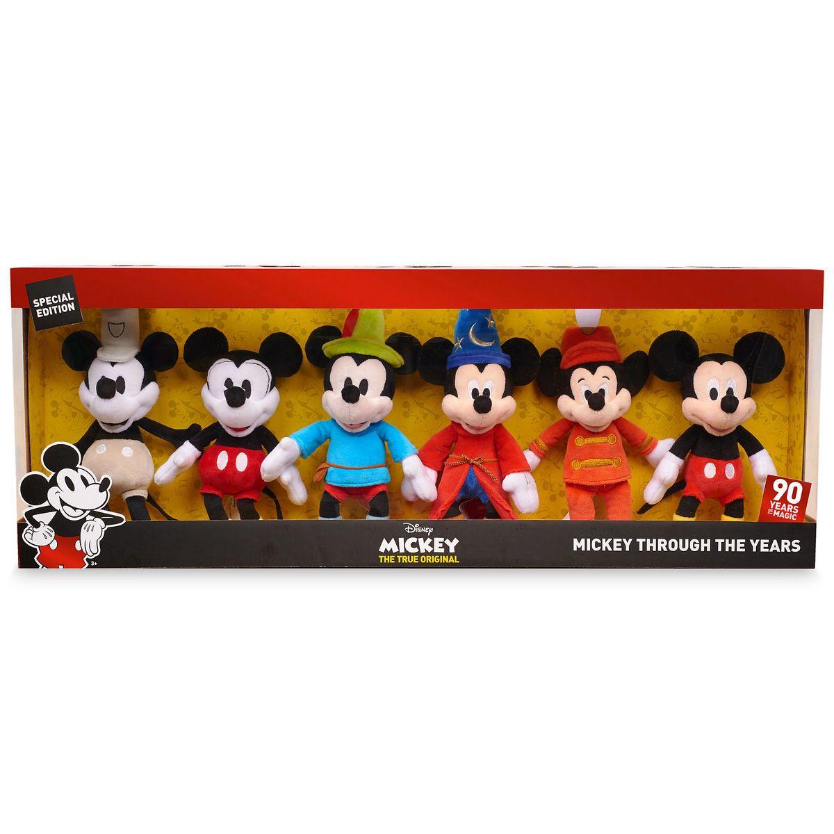 Tsum Tsum Mickey Steamboat Willie Set Supply Brand New In Box 90th Anniversary Choice Materials
