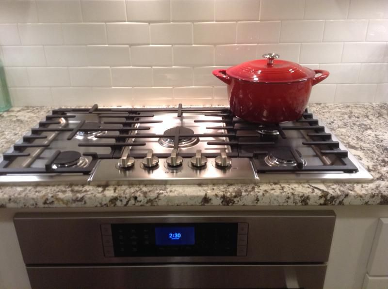 Love This 36 Gas Cooktop From Bosch With Images Gas