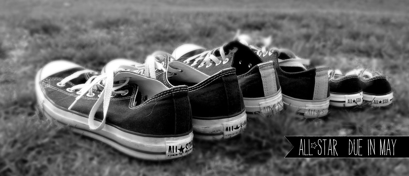 Chuck Taylor All Star Baby Announcement #Converse #Baby