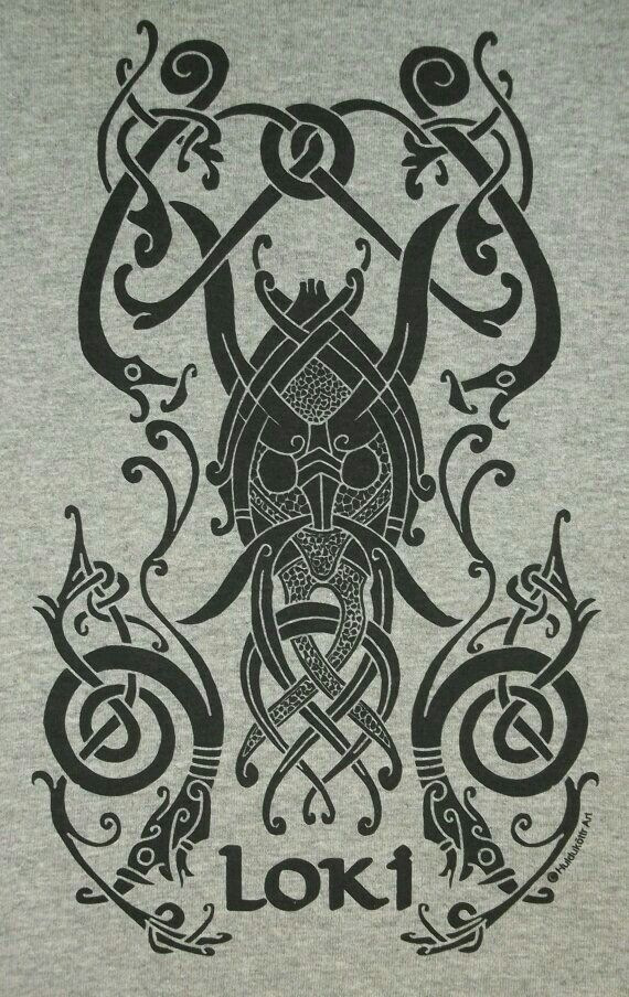 loki design nordicsymbols wikinger tattoos. Black Bedroom Furniture Sets. Home Design Ideas