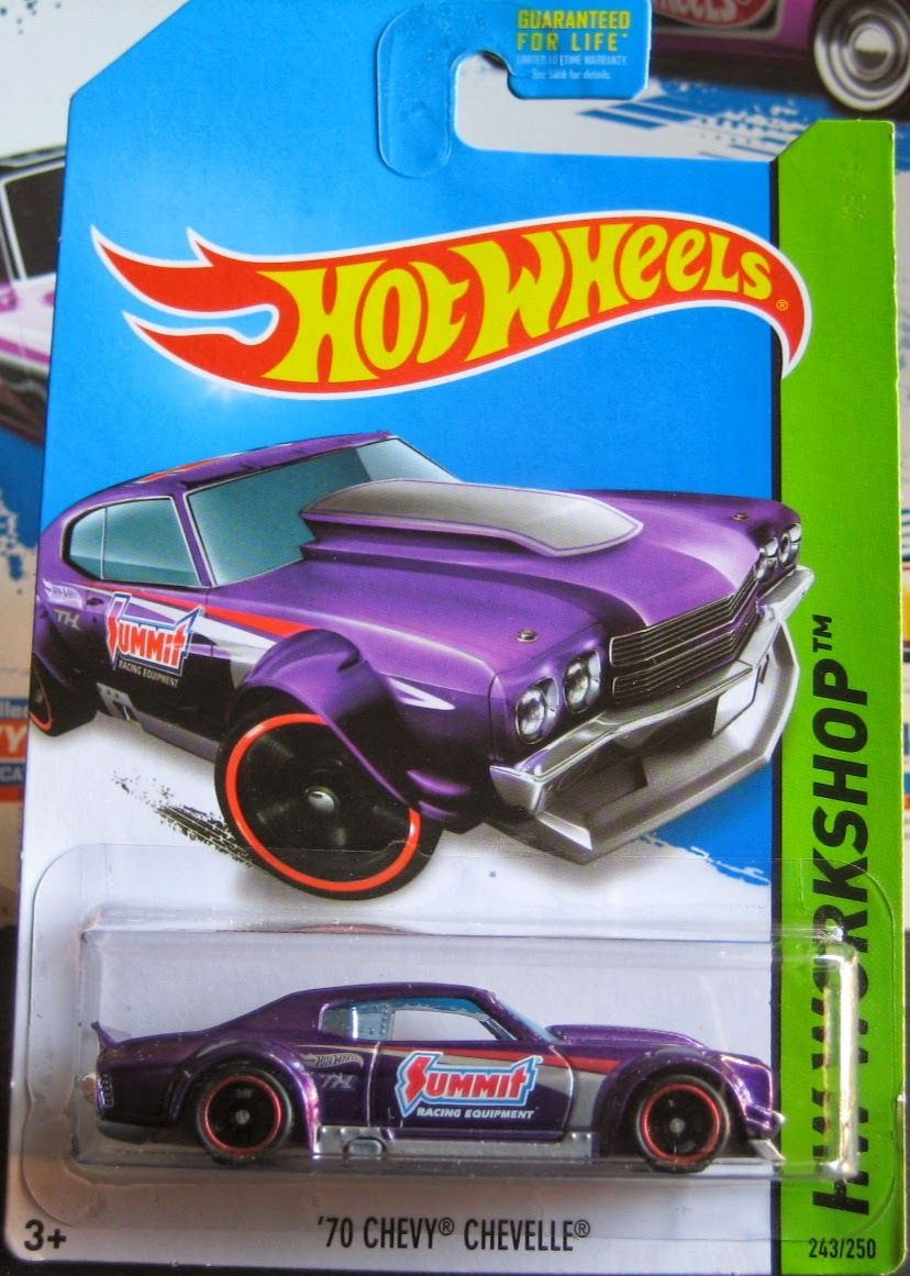 2014 Hot Wheels '70 Chevy Chevelle SS Super Treasure Hunt mint on card for sale at Bonanza