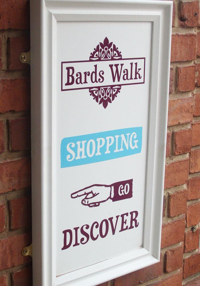 Bards Walk. Sign